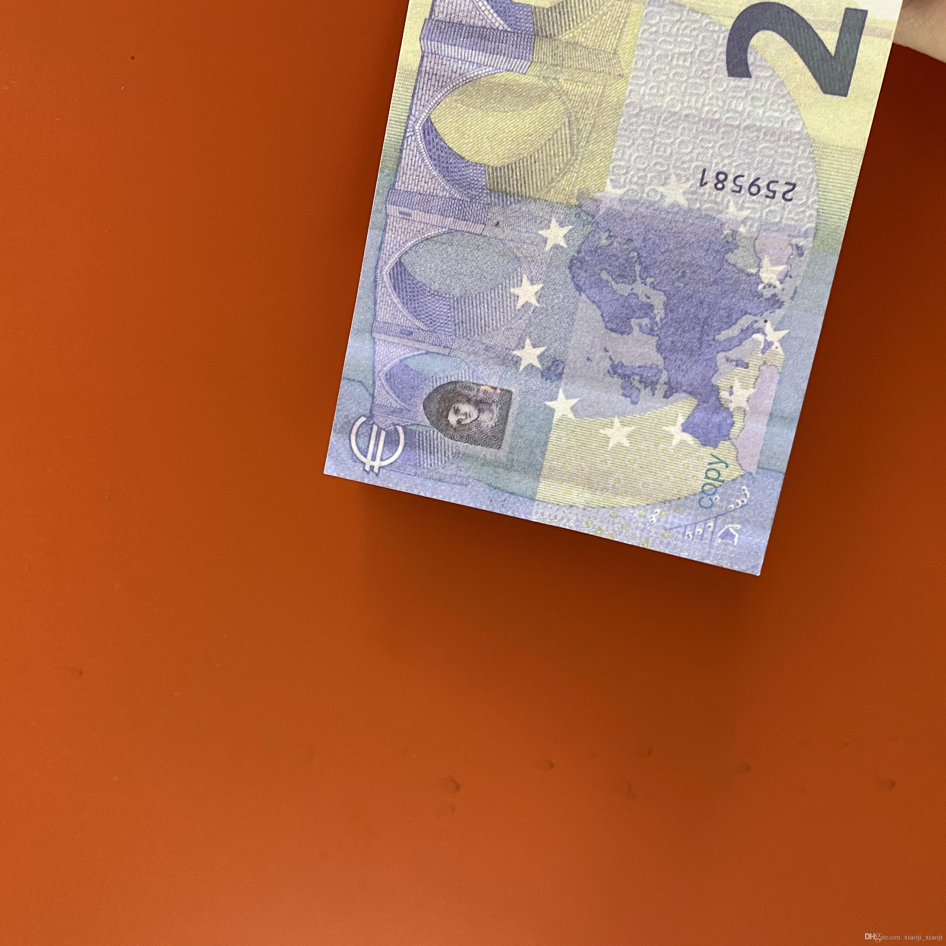 Qualität Best 07 Party Kinder Banknote Geschenk Euro Währung Film Banknote Geld Fake 20 Toy Prop dblnc