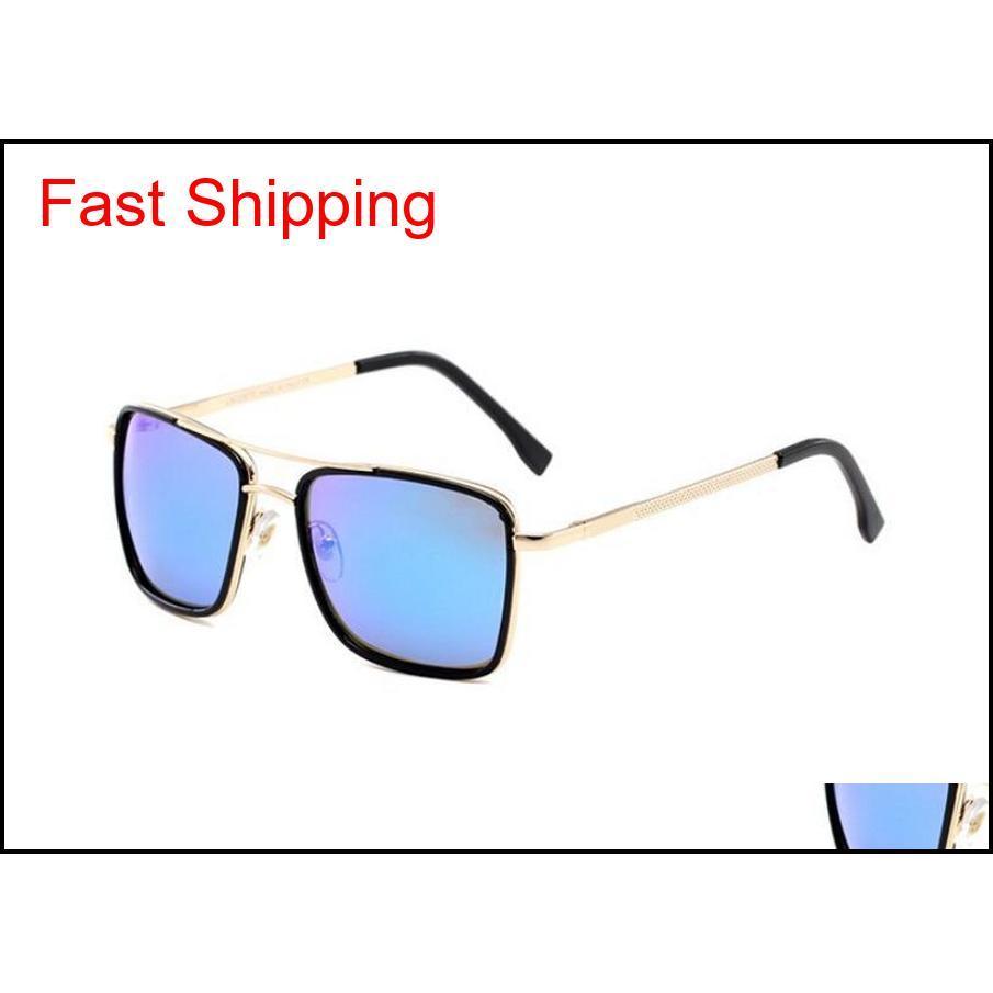 Yüksek Kaliteli Polarize Lens Pilot Moda Erkekler Ve Kadınlar için Güneş Gözlüğü Marka Tasarımcısı Vintage Spor Güneş Gözlükleri Qylzsl Homes2007
