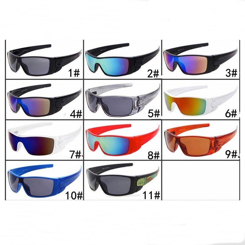 Men Sports Sunglasses UV400 Cycling Goggle Unisex Designer 11 Colors PC Full Frame Shield Eyeglasses