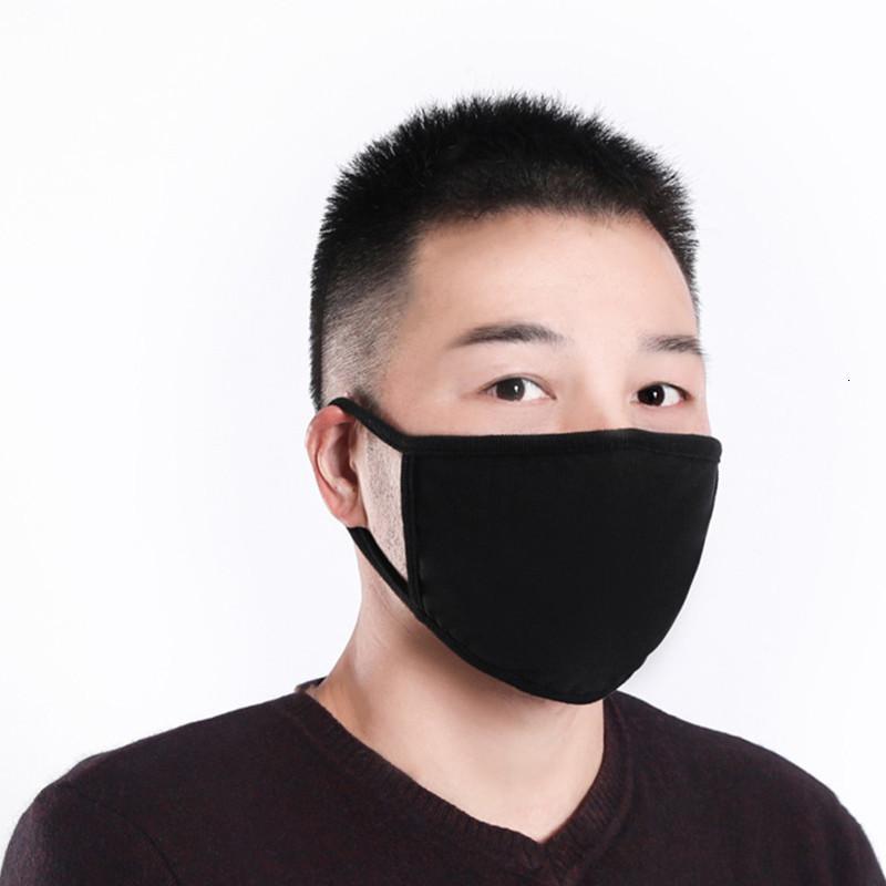 Maschere lavabile in cotone nero Maschera di protezione antipolvere di moda di stoffa riutilizzabili Classic Per ProducoutletR26C Uomo Donna di protezione