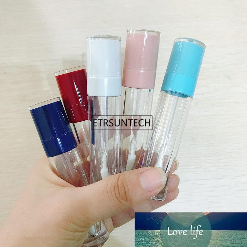 10/30 / 50 pcs 8ml Vide Lip Bouteille de brillance Tube rond DIY Rouge à lèvres Récipient des flacons rechargeables SamplemakeuP accessoires F3761