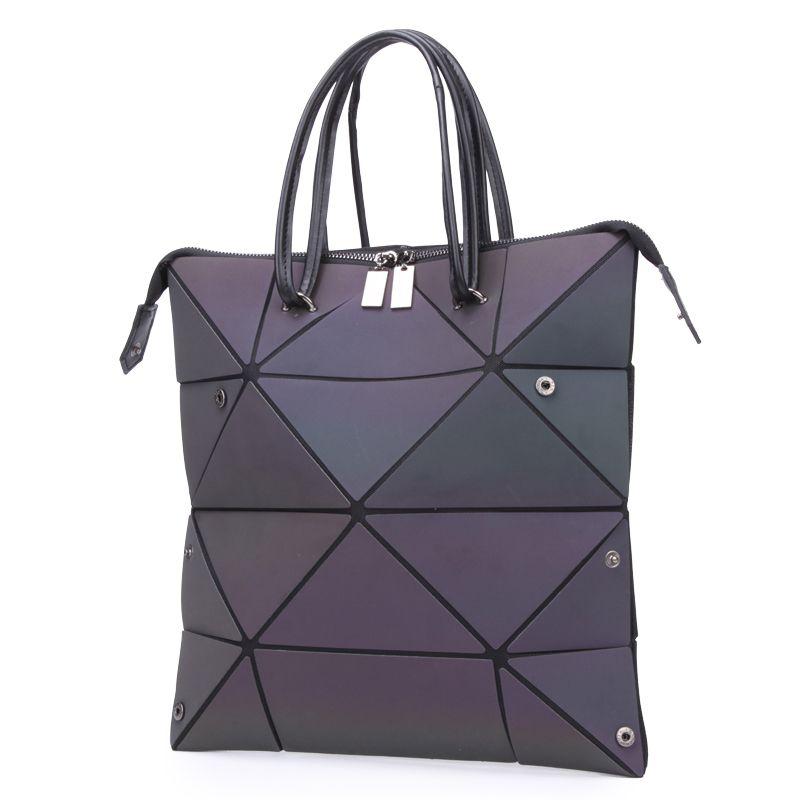 Borse da donna LoveVook Borse a tracolla di lusso Designer 2020 Borsa pieghevole Borsa luminosa con maniglia superiore Geometrica Geometrica