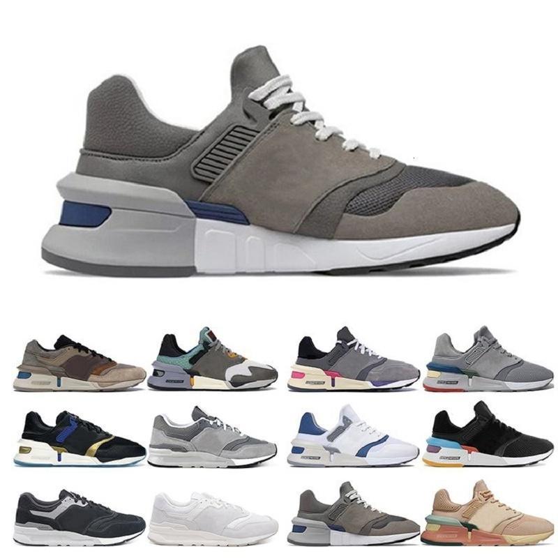Alta Qualidade Moda Ao Ar Livre 997 Sapatos Running Vintage Nonnative Cool Gray Nenhum Dias ruins Brown Bege Mulheres Homens Treinador Esporte Sneaker Andar