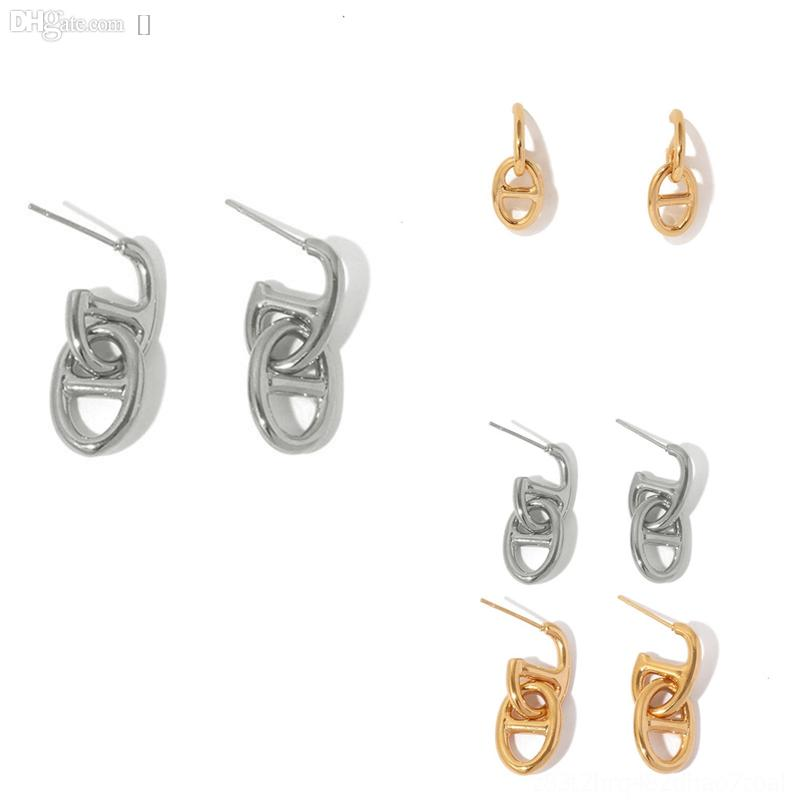 ojb8y mode simple symbole infini zircon goujon goujon boucles d'oreilles en gros de goujon classique argent boucles d'oreilles femmes boucles d'oreilles or
