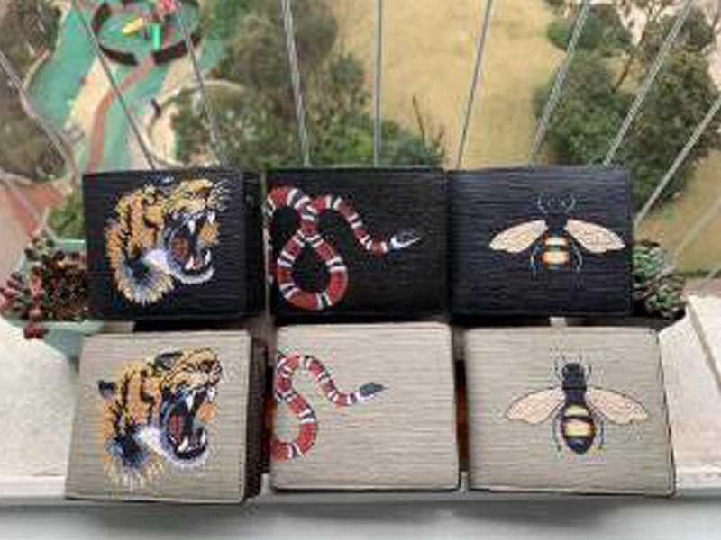 2020 Nuova Borsa L Spedizione gratuita Billette Designer di alta qualità Designer Plaid Pattern Women Portafoglio Uomini Pure Portafoglio designer di lusso di fascia alta con scatola