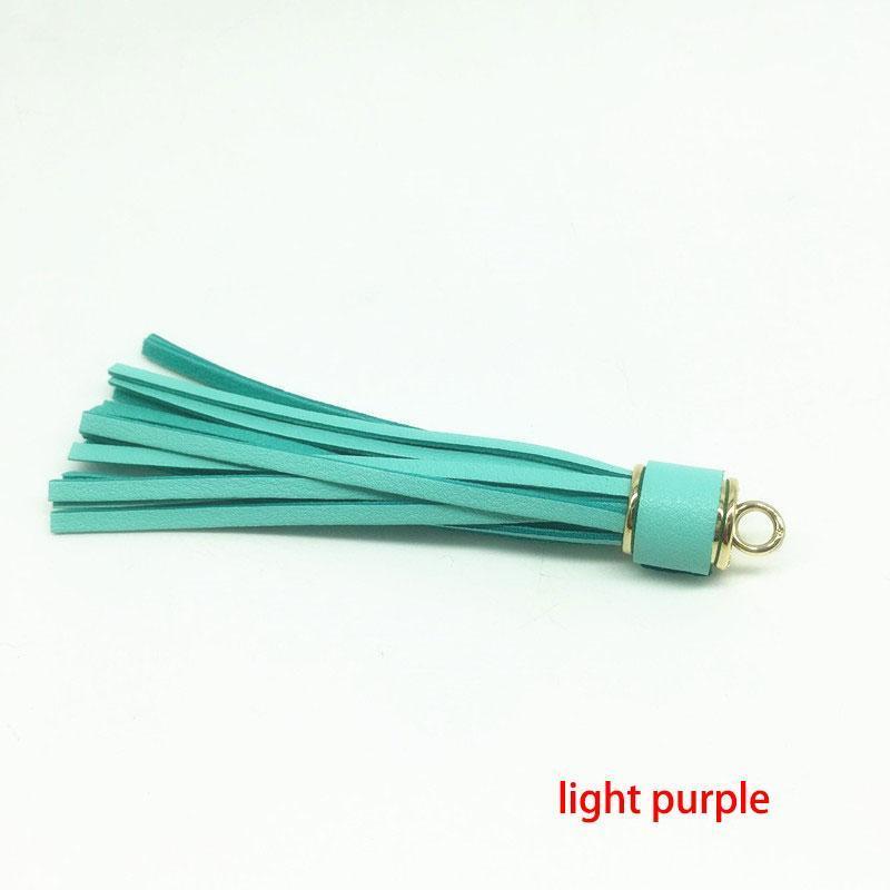 12pcs Lot Personalized Suede Tassel Pendant Leather Tassels For Keychain Bag Cellphone Pendant Home Decoration Diy Accessories H wmtLEL