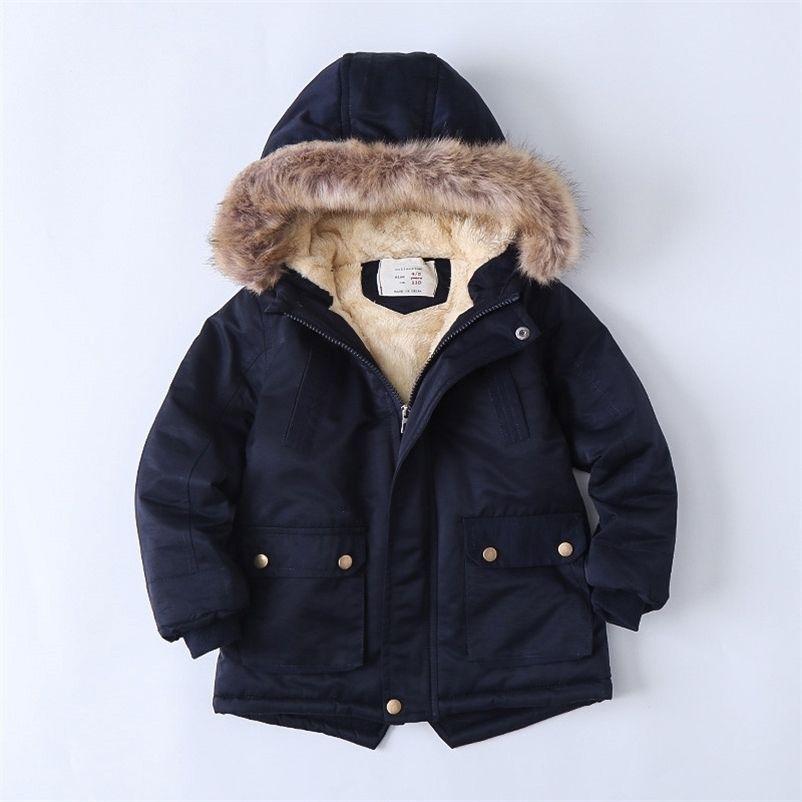Meninas meninas para baixo jaqueta cenoura cenoura imprimir trajes para meninos vestido bebê aquecido colete de criança com capuz casaco babys roupas inverno crianças outerwear 201209