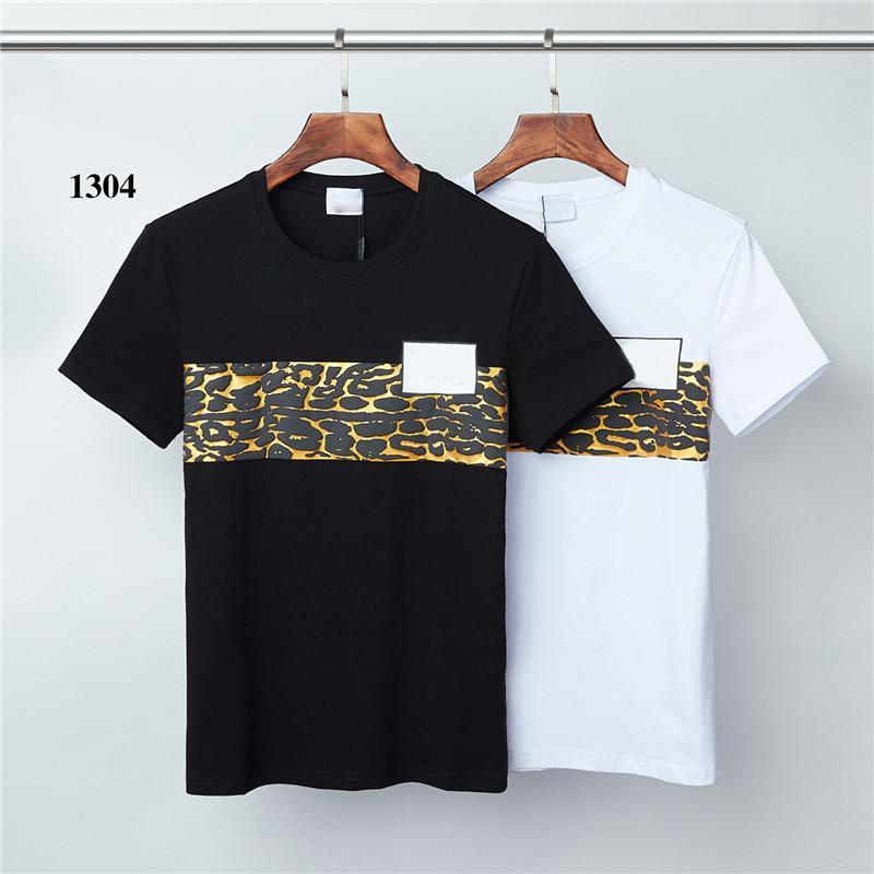 2020сс 2021сс Бренд Летняя футболка Мужская повседневная короткая рукава хлопчатобумажные топы Tees Print Men T рубашка хип-хоп мужской T-SHIR M-3XL TOP9