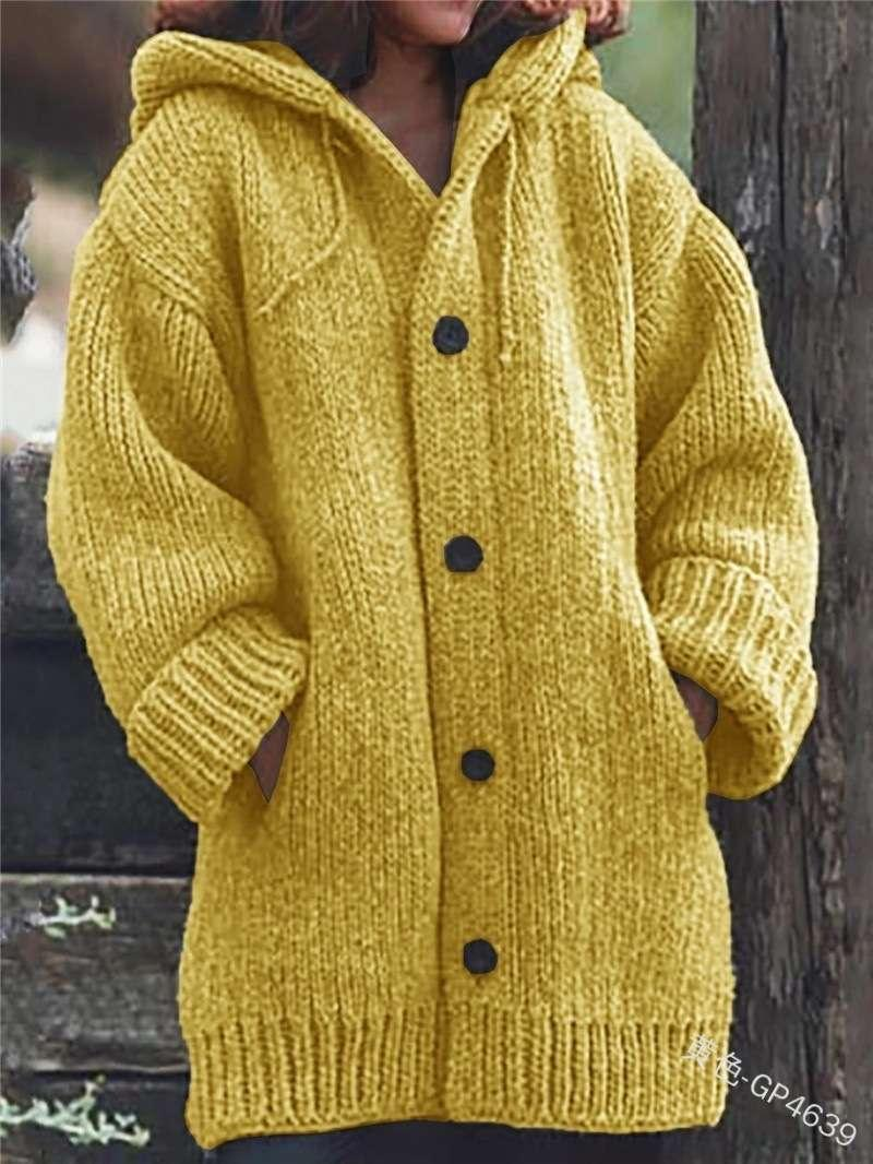 Vipautumn / Winter 2020 Cardigan de punto de punto suéter de longitud media M107