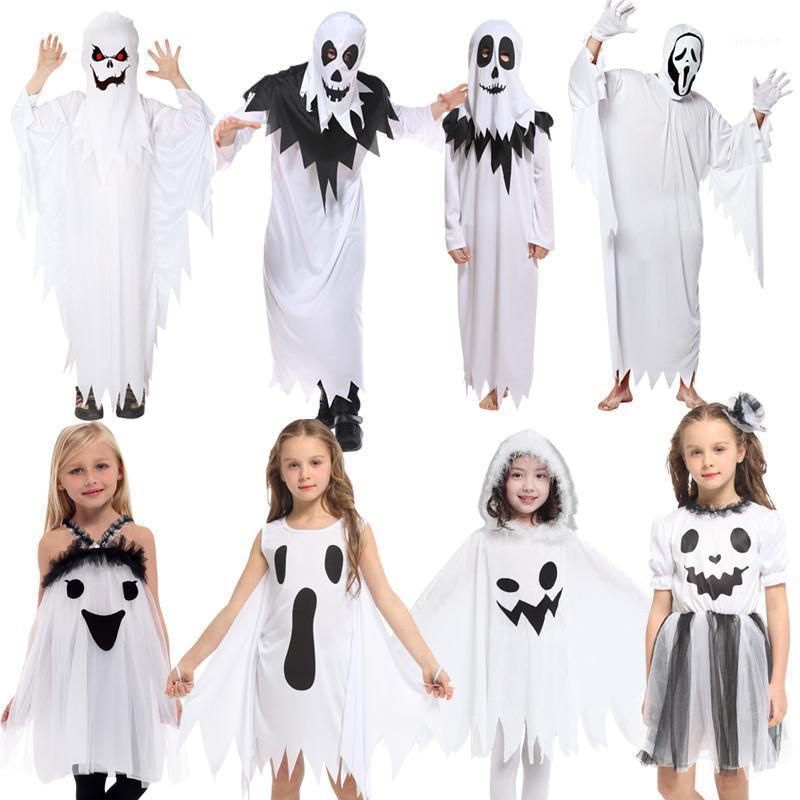 Аксессуары для костюмов Хэллоуин Детский призрак для Детский призрак для взрослых детей Performance Elf Dress Up Boys and Girls Onable1