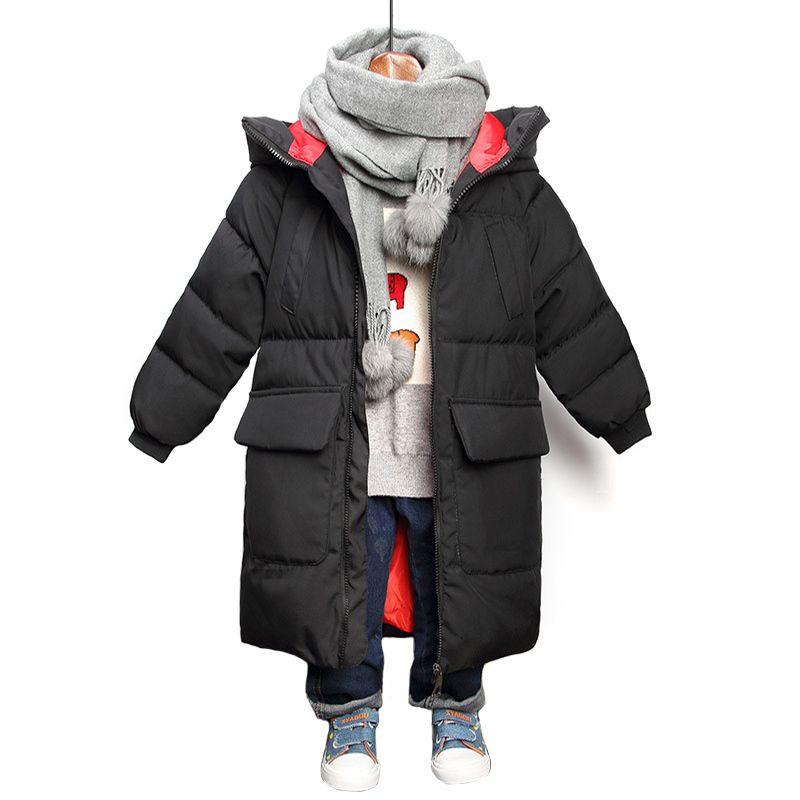 Kinder-Mode-Jacke für Jungen Damen Winterjacke 2020 neue Jungen Jacken Kinder Parkas unten Baumwolle Oberbekleidung Mädchen Mantel Y1113