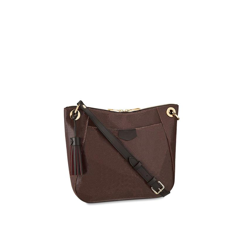 Bolsa de bolsas de hombro bolsa de mochila bolsa de billetera Tote 32cm Cross 42230 Bolsos Crossbody 827 Cuero Clutch Womens Fashion Cuerpo Bolso GCQLA