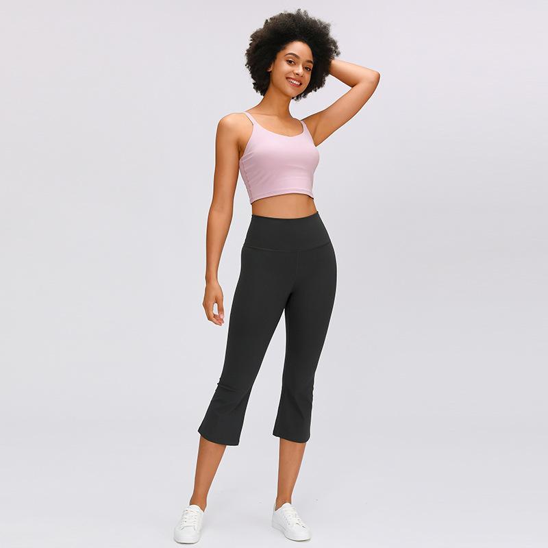 2020 nuova vita alta esercizio di sollevamento dell'anca idoneità Capris per le donne