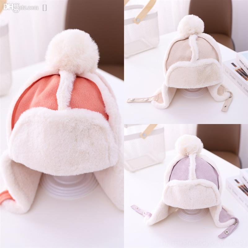 Bebek Yumuşak Yeni Yay Çocuk Kumaş Şapka Baskılı Tığ Beanie Çocuk Kap Bebek Çocuk Moda Kazak Kap için # 409