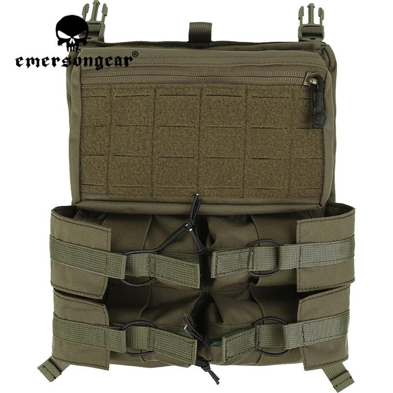 Emersongar Emerson Lightweight Banger Back Panel Loop Hoop System System per Tactical 420 Vest Airsoft Hunting CS Game 201215