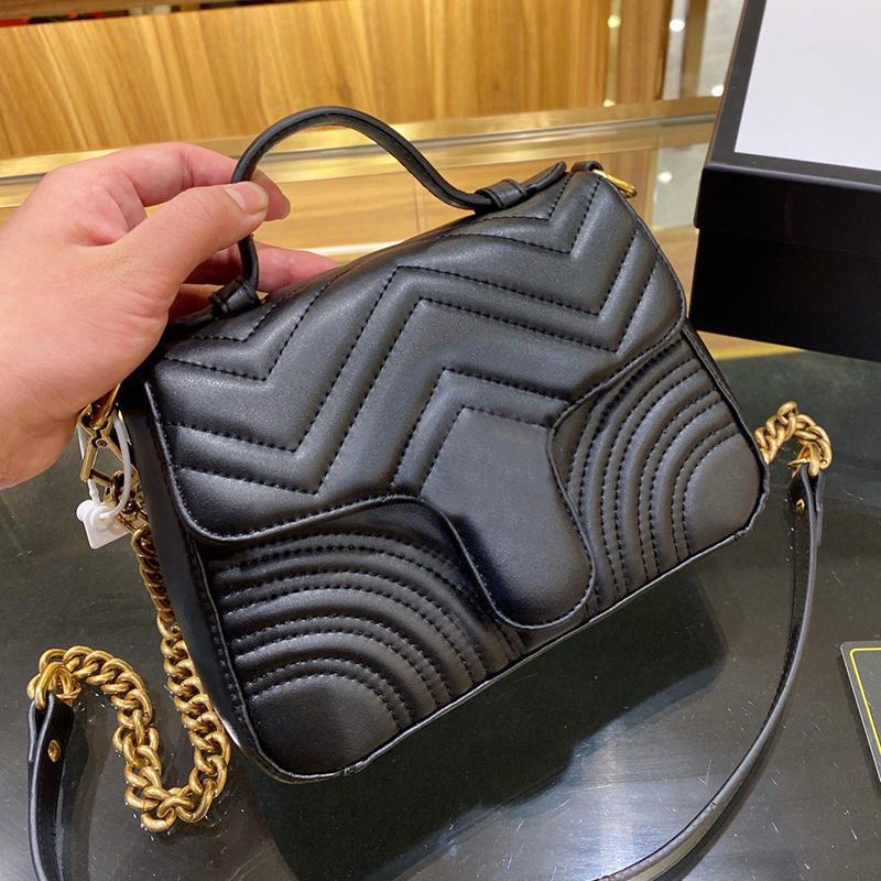 Venda quente Moda Bolsas De Ombro Mulheres Cadeia Crossbody Bag Bolsas Senhora De Couro Superior Qualidade New Bolsas Designer Bolsa Mensageiro Feminino