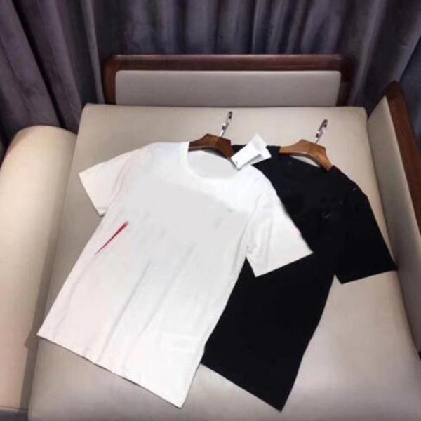 Плюс размер S-5XL Мужские футболки 100% хлопок женские и мужские повседневные вершины с короткими рукавами летняя рука летая рубашка с короткими рукавами