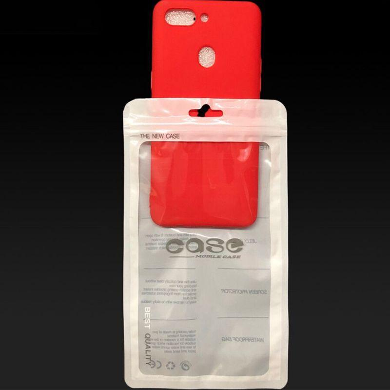 Packtaschen Handy Case Paket Tasche Einzelhandel Kunststoff ZIPLOCK Zubehör für alle Arten PHONES PHONES PHOONEN TRANSPARENT HANG LOCHE BUCHEN