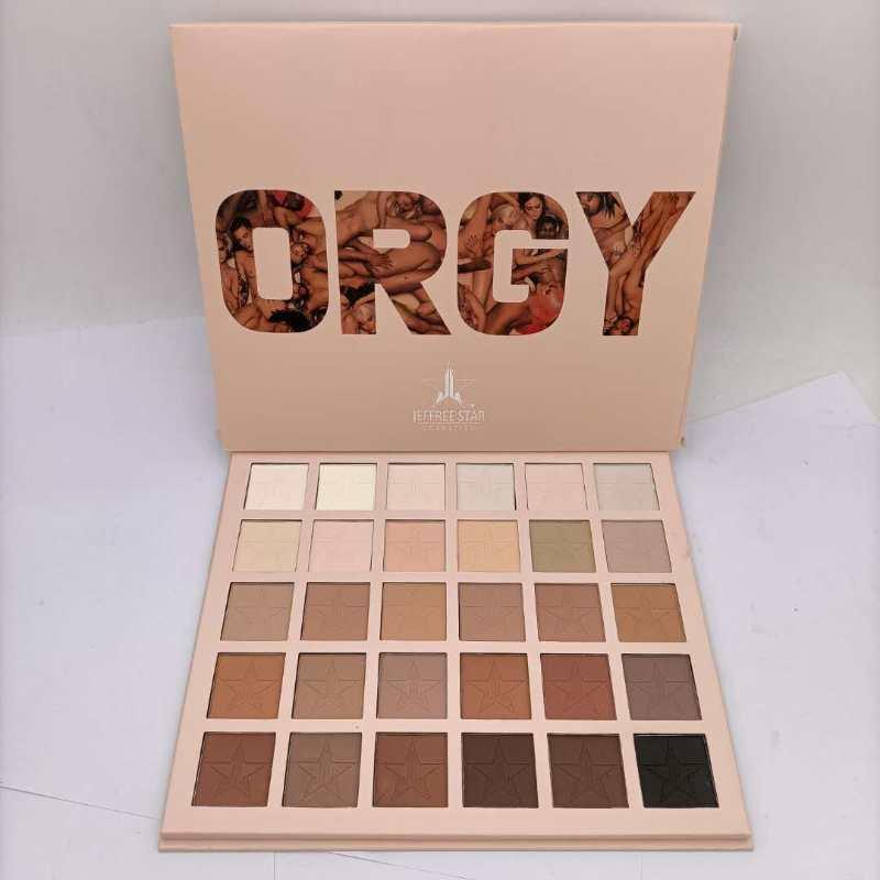 New Jeffree Star Eautshadow 30 Color Matte Shadow Palette Naturel Maquillage longue durée de longue durée