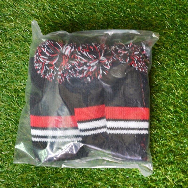Outdoor Sports Accessoires 3 STÜCKE One Streifen Wolle Knit Golf Clubs Set Driver Fairway Holz Kopfköpfe Decken heiß