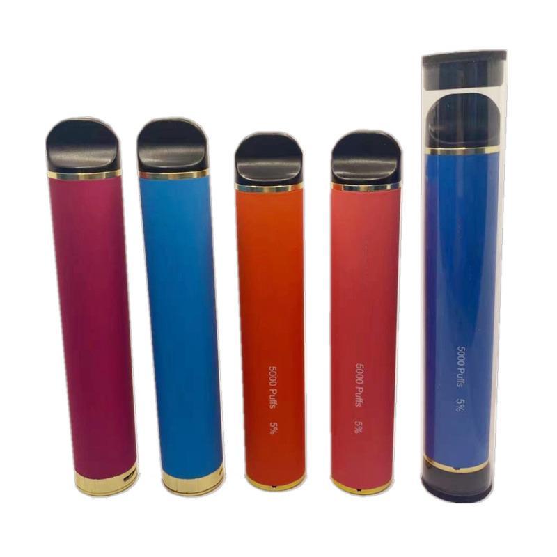 OEM 조정 가능한 공기 흐름 일회용 vape 펜 5000 퍼프 10ml 카트리지 Pods 3000mAh 배터리 기화기 E Cigs Starter Kit Vapor Devices 사용자 정의