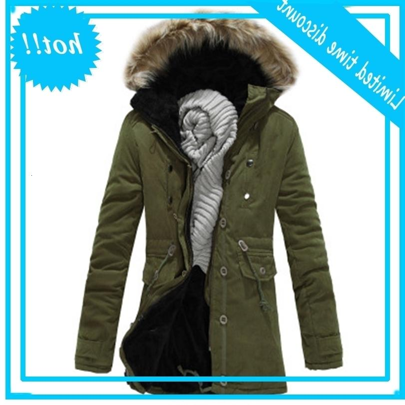 Vêtements rembourrés en coton d'hiver épaissies manteaux d'hommes chauds Homme Homme