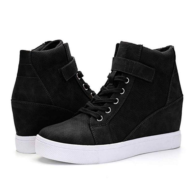 Сагационные туфли Женщины Дамы Мода Зима Теплый Тепловый Увеличение Квартиры Корокие Ботинки Повседневная Обувь Женщины Квартиры 2020Dec24