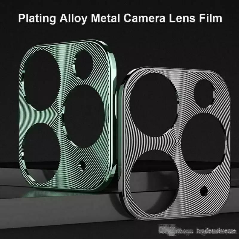 Для iPhone 11 Pro Max задняя крышка чехол с камерой для iPhone 11 Pro Camera Protector металлическое кольцо заднего линза для iPhone 11 Camera Lens Case