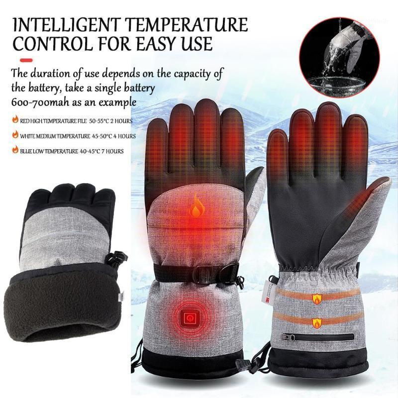 4.5V Battery Powered Breathable Electricd Heating Gloves Cycling Gloves USB Heated Winter Outdoor Motocross1