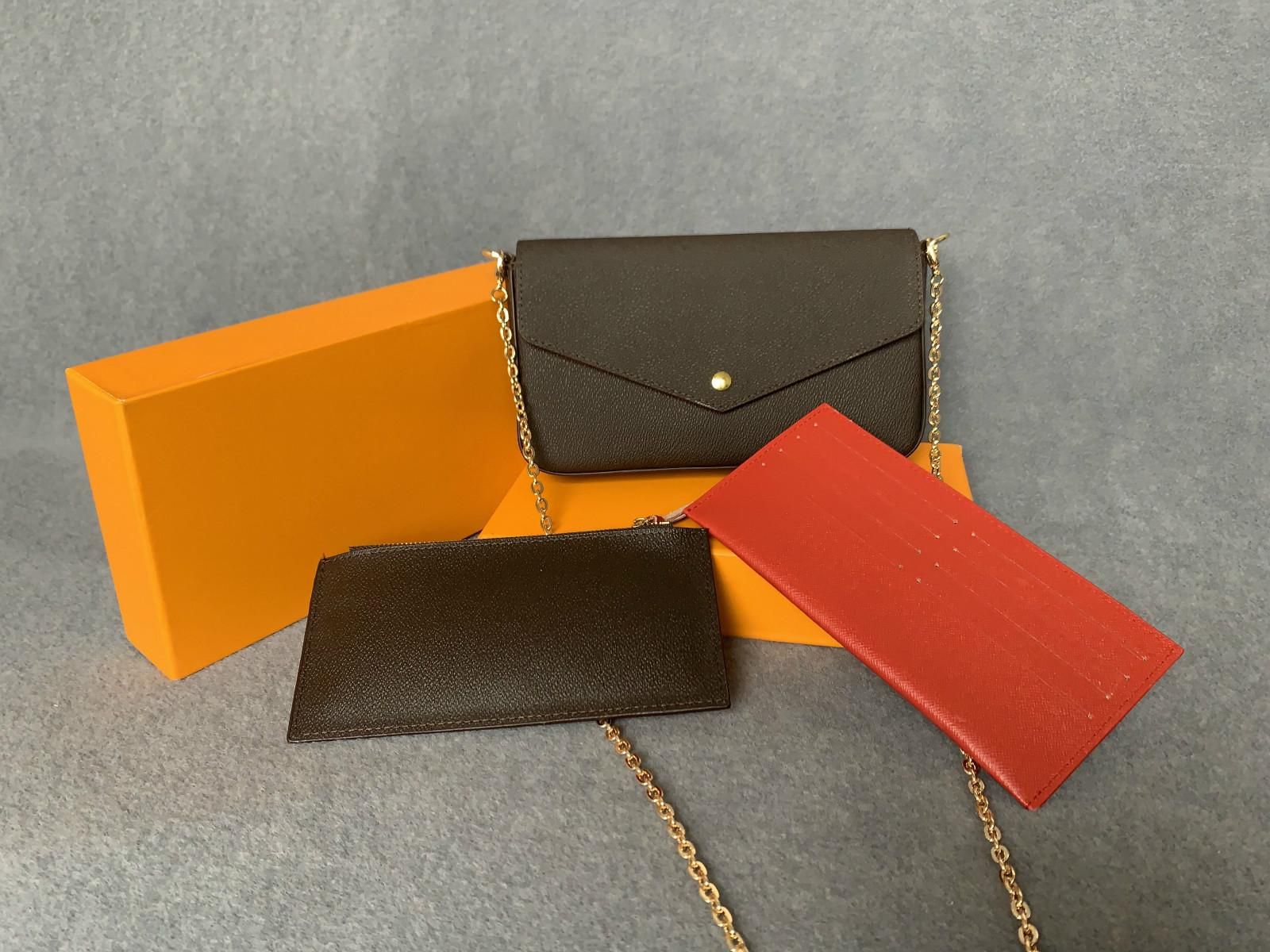 Сумки новейшие кошельки сочетание коробки женщин сумки на ремне высокий см трех частей сумки качества 61276 размер с 21 * 11 * 2 b мода pujjw