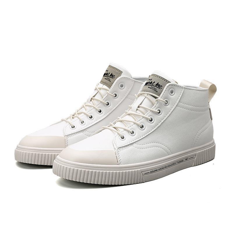 2020 Bahar ve Yaz Erkek Ayakkabıları Kore Sürümü Tüm Maç Eğiliminin Kore Versiyonu Erkek Yeni Orta-En Rahat Ayakkabılar Erkekler için