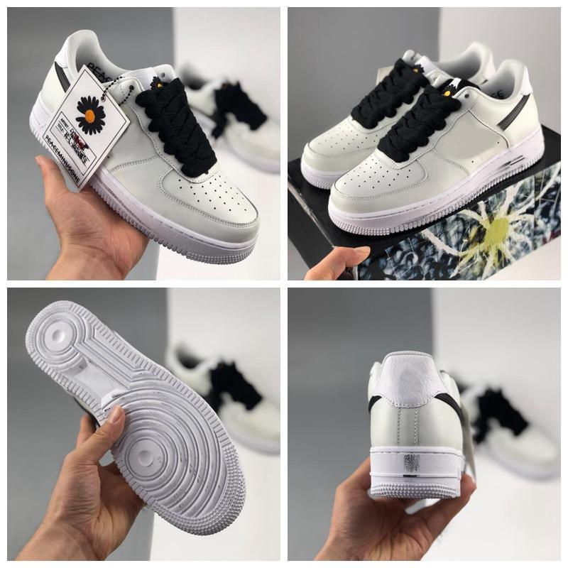 2021 Handkrampf PeakeminusOne Para-Rauschen 2.0 Niedrige weiße Daisy Laufschuhe für Frauen Herren 1s Trainer Outdoor Sneakers Größe 36-45