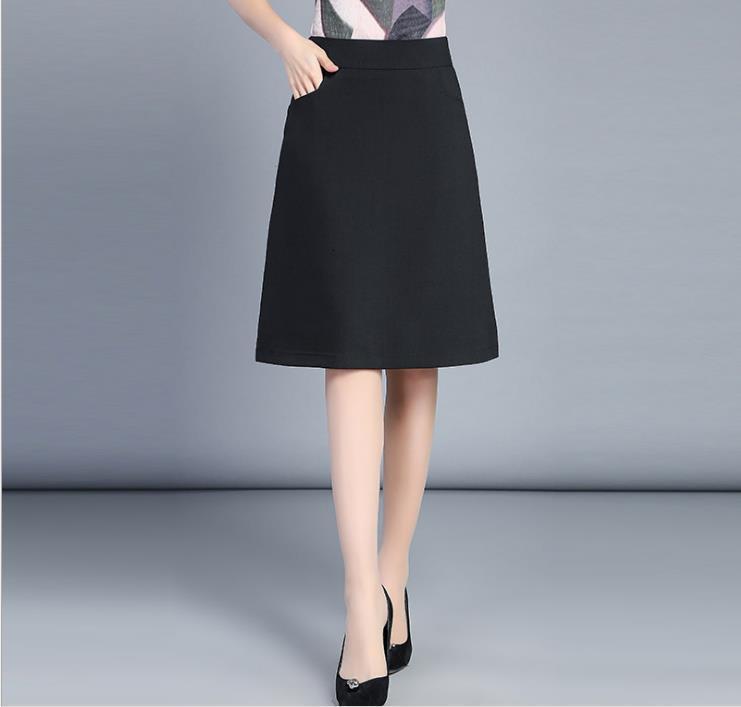 Летнее Новое профессиональное высокомешимое большое слово для женщин-юбки Erwg