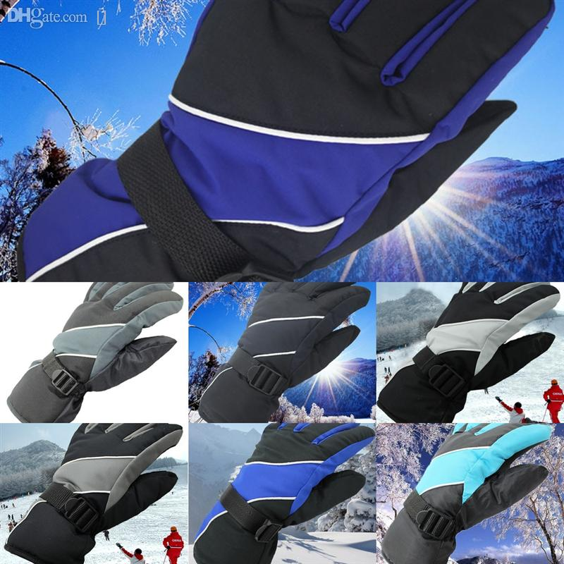 2R6DF Wildmtain Man Gants Ski, hiver Gants de neige chauds pour femmes Ski, imperméable et sévère, soutien à écran tactile, convient aux hommes pour gant