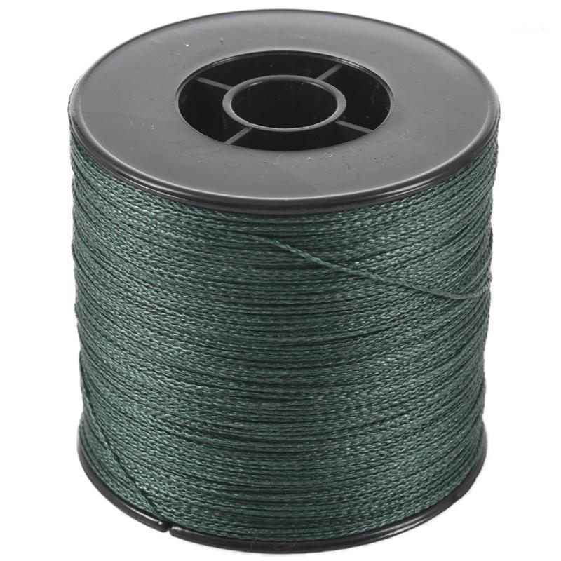 500m 100lb 0.5mm Super Forti linea di pesca intrecciata intrecciata PE 4 fili colore: scuro verde1