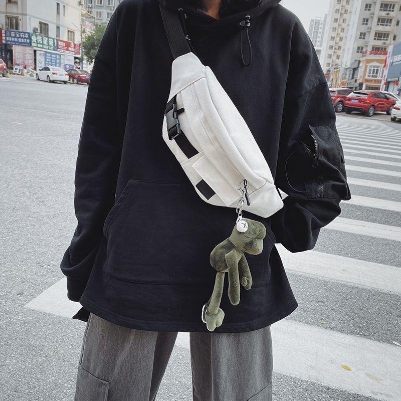 HBP Shoulder bag Messenger Bags Canvas Bag Multifunctional Bag Fashion High School Students Men and Women Personality
