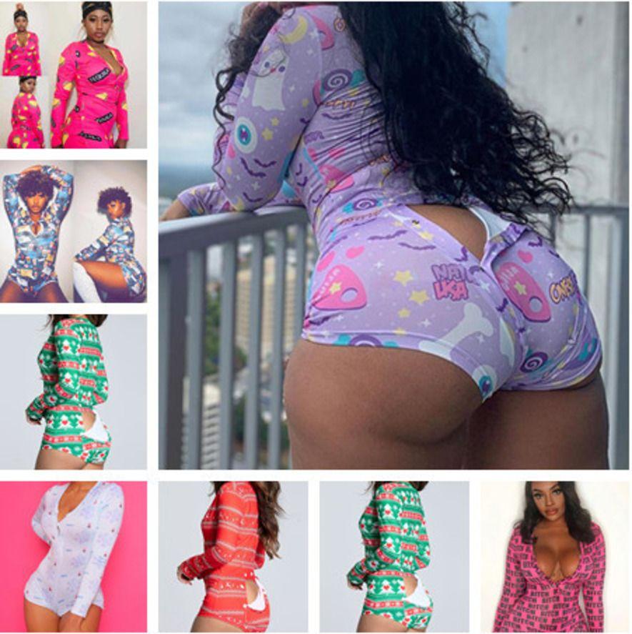 17 Цветные Женщины Комбинезоны Rompers Дизайнер Pajama onsingsies Night White1 Одикруит Тренировка Кнопка Тощий Горячей Печать V-образным вырезом Короткие штаны Ночные трусы