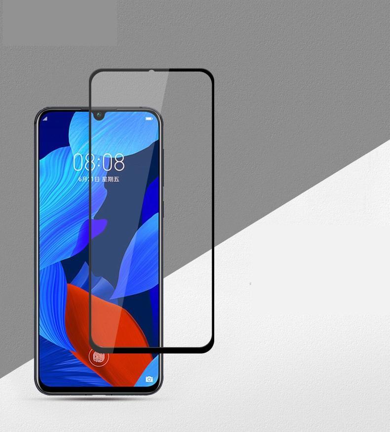 9h Protezione dello schermo in vetro temperato a copertura intera stampata per Huawei Y5A Y6a Y7A Y9A Nova 8 SE Nova 8i 200pcs / lot