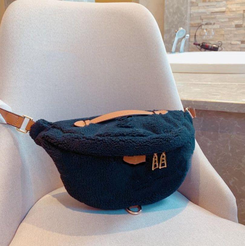 Высокое качество натуральной кожи в 2020 году Bumbag старый цветок Tedy Lambswool талия пояса сумка модный кошелек