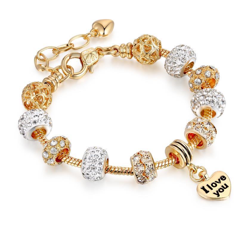 925 Sterling Silber Rose Reflexion Charme Reflexion Crown Clip Ewiger Charme für Neue Armband Set
