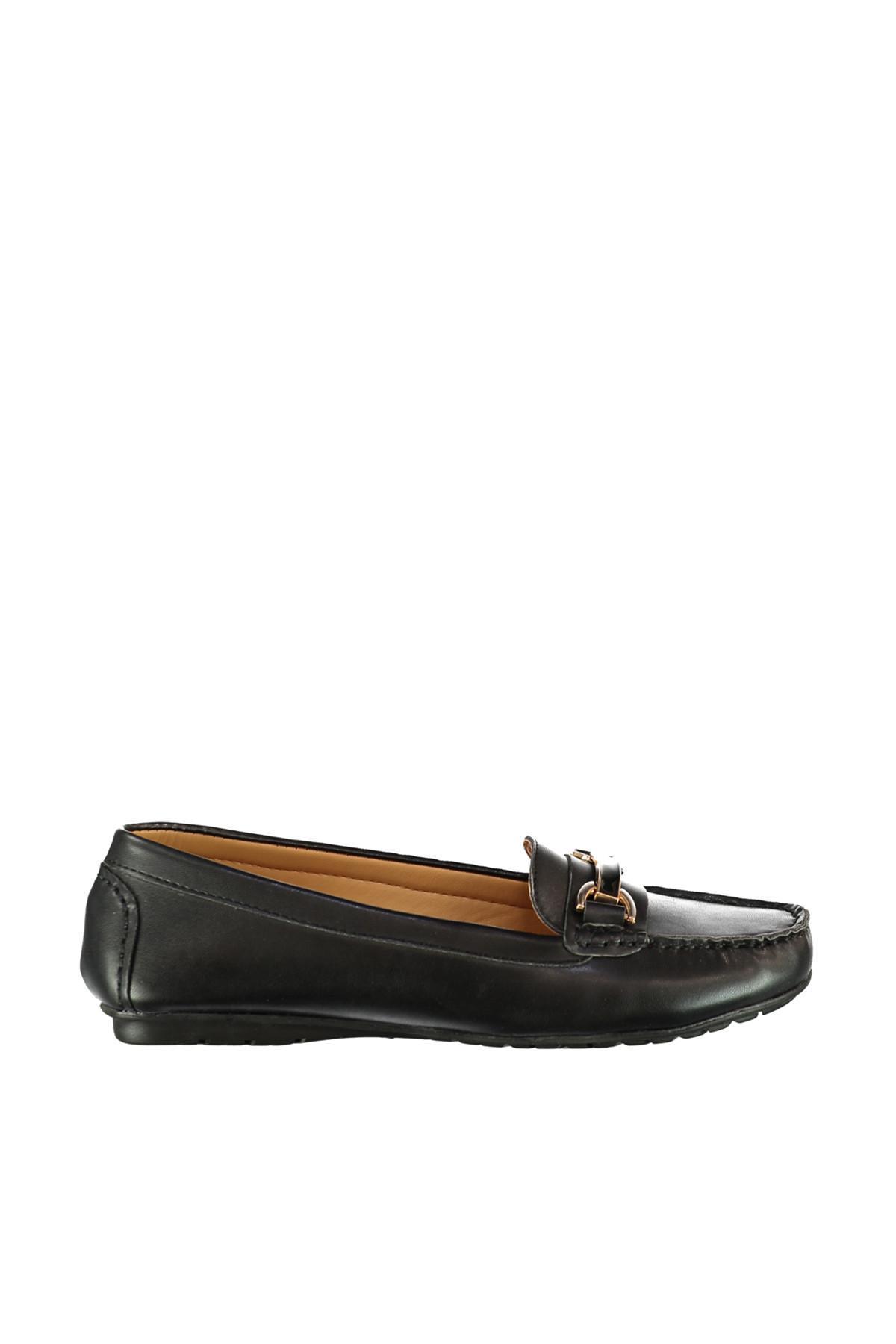 Derimod Black Women &#39S Loafer Shoes
