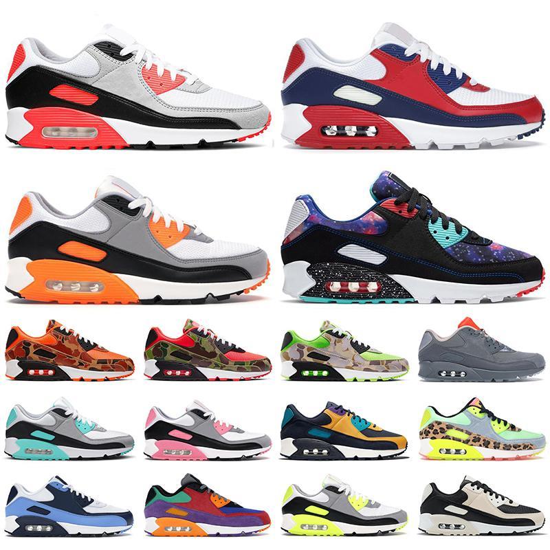 max 90 90s shoes scarpe da corsa da uomo ginnastica USA Green Camo infrarossi UNC Lime Laser Blue Rose Supernova Turchese uomo sneakers sportive da esterno