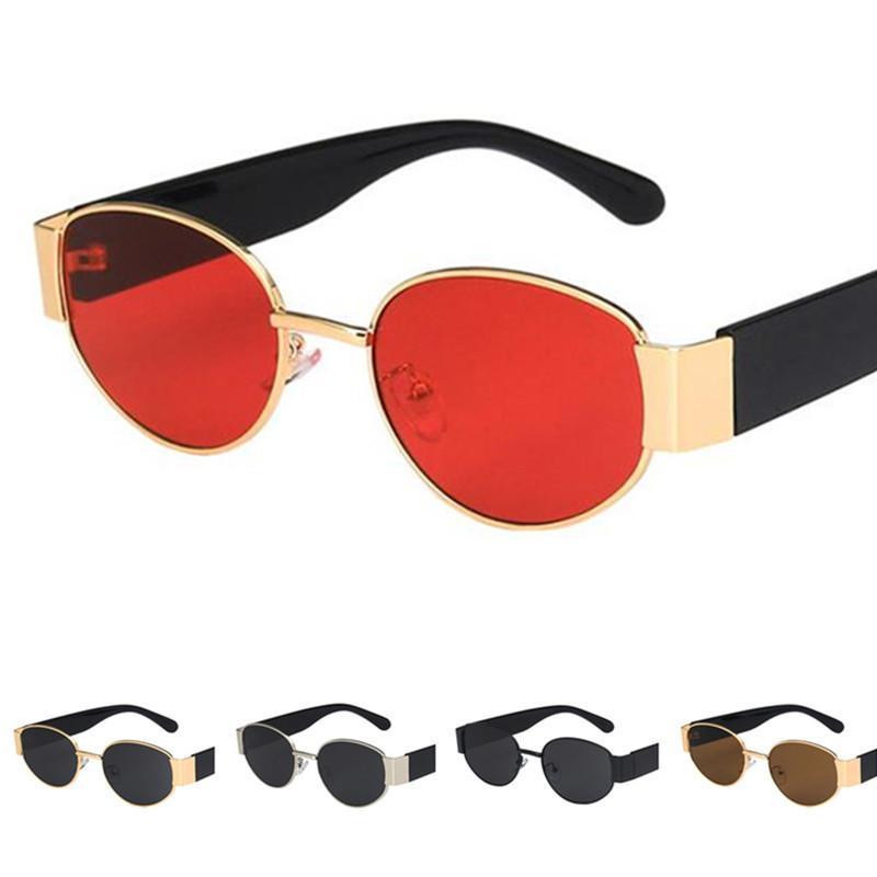 New Adumbral Frame Óculos Homens Anti-UV Hop Óculos Pequenos Óculos Ovais Óculos Óculos Sun Óculos De Sol Mulheres A ++ AACJM
