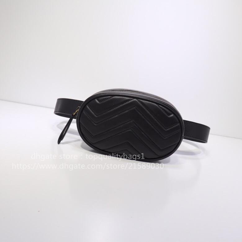New Hot Venduto 18 cmFashion Genuine Pelle Pelle Top Quality Donne Lussurys Designer Borsa a tracolla Uomo Portafoglio Designer Classico Designer Borsa in vita Shipin