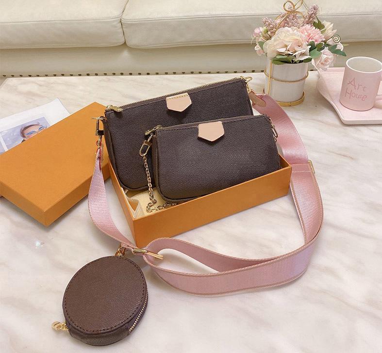 Borse di marca Multi Pochette Accessoriires 2020 New Fashion Donne Piccola Borsa a tracolla Branca Catena di marca Crossbody Bag Designer di lusso M40156