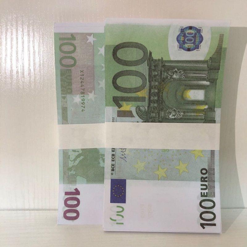Euro Ticket Faux Kinder 100 Geschenk Neue Geld Requisiten Magie LE100-20 Prop Gefälligkeit Papier Spielzeug Billet Euro Wicfd Ssumg