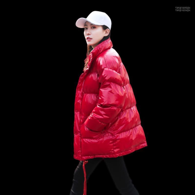 Jacket d'hiver de haute qualité Nouvelle mode Hiver Femmes Down Down Down Down Down Watch Femme Down Down Parka Loose Coutant imperméable
