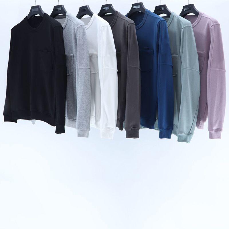 Neue Ankunft Herren Hoodies Sweatshirt Solide Farben Herren Womens Rundhals Pullover Paare Top Qualität Langarm Hoodies