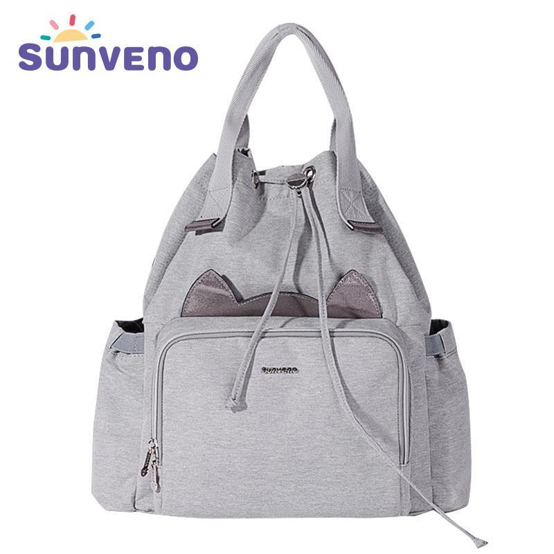 Sunen Sunen Moda Mamãe Maternidade Fralda Saco Bolsa de Enfermagem Travel Mochila Designer Baby Baby Cuidados Baby Care Backpack LJ201013