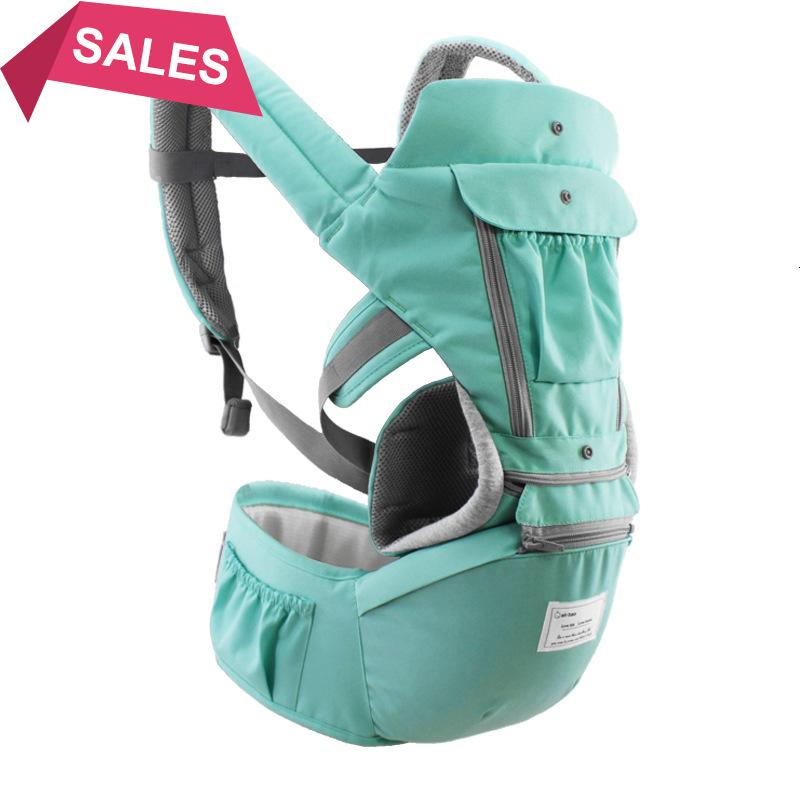 Traspirante Ergonomico Baby Carrier Zaino Portatile Baby Carrier Baby Carrier Kangaroo Hipseat Hips Heaps Baby Sling Sling Carrier Wrap